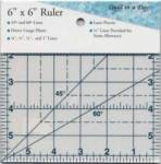 Square Up Ruler  6x6 INCH