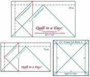Flying Geese Lineale Victory Quilts Mini Ruler Set