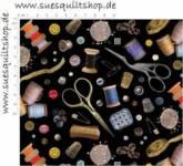 Elizabeths Studio Stitch in Time Nähzubehör auf schwarz