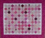 Quilt Pink - *Rote Grütze* - UNVERKÄUFLICH - nur als Anregung gedacht!