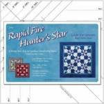 Deb Tuckers Rapid Fire Hunters Star Large Star Tool