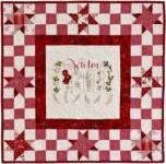 Anleitung Winter Sampler Quilt ca. 76,2 x 76,2 cm