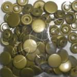 Snaps Druckknöpfe 25 stk. ca. 12,4 mm, B11 gold