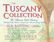 Hobbs Tuscany Collection Silk Batting  Queen Size 96x108 inch