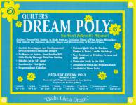 Dream Poly Request weiss   Crib Size 46x60 inch