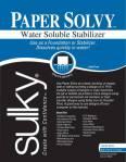 Paper Solvy, wasserlösliches Papier