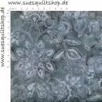Hoffman Batik Blüten violett