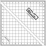 BlocLoc Ruler METRISCH 15 x 15 cm