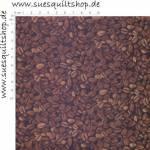 Timeless Treasures Coffee Beans, Kaffeebohnen braun auf schwarz
