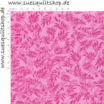 David Textiles Swedish Vineyard Blätter pink auf pink