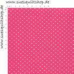 Lakehouse Sunrise Punkte weiss auf leuchtend pink