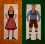 PDF Anleitung Bayerisches Pärchen, Bavarian Couple