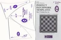 Perfect Patchwork Templates Winding Ways Template Schablonen  6 inch