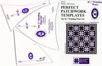 Perfect Patchwork Templates Winding Ways Template Schablonen  8.5 inch