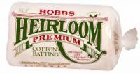 Hobbs Heirloom 80/20 Cotton Batting NATUR    Twin Size 72x90 inch