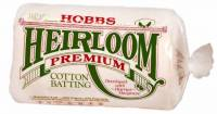 Hobbs Heirloom 80/20 Cotton Batting NATUR King Size 120x120 inch