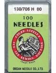 Organ Nähmaschinennadeln - No. 80 - 100er Pack  - System 130/705H