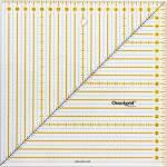 Omnigrid Lineal  20 x 20 cm Bias Square