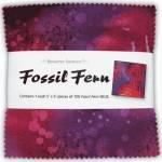 Benartex Fossil Fern Charm Pack 5x5 inch, 100 stk