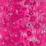 RJR Raspberry Floral silver metallic Blumen himbeere silber