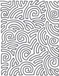Schablone 10 inch Maze Background