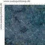 Island Batik Ocean Odyssey Blue Swirls