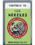 Organ Nähmaschinennadeln - No. 70 - 100er Pack  - System 130/705H