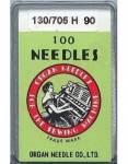 Organ Nähmaschinennadeln - No. 90 - 100er Pack  - System 130/705H