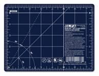 Olfa Schneidematte  6x8 INCH blau mit weissem Raster