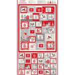 Makower Scandi Christmas Adventskalender 2020, ca. 60 cm Rapport