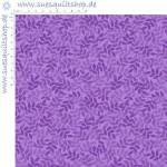 Quilting Treasures Cotton Leaf Crocus Blätter violett