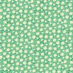Henry Glass Nana Green Packed Daisies 1930s Reproduction