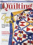 Fons And Porters Love of Quilting No. 154 July/August 2021