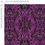 Benartex Piece & Joy Paula Nadelstern Tiffany Purple